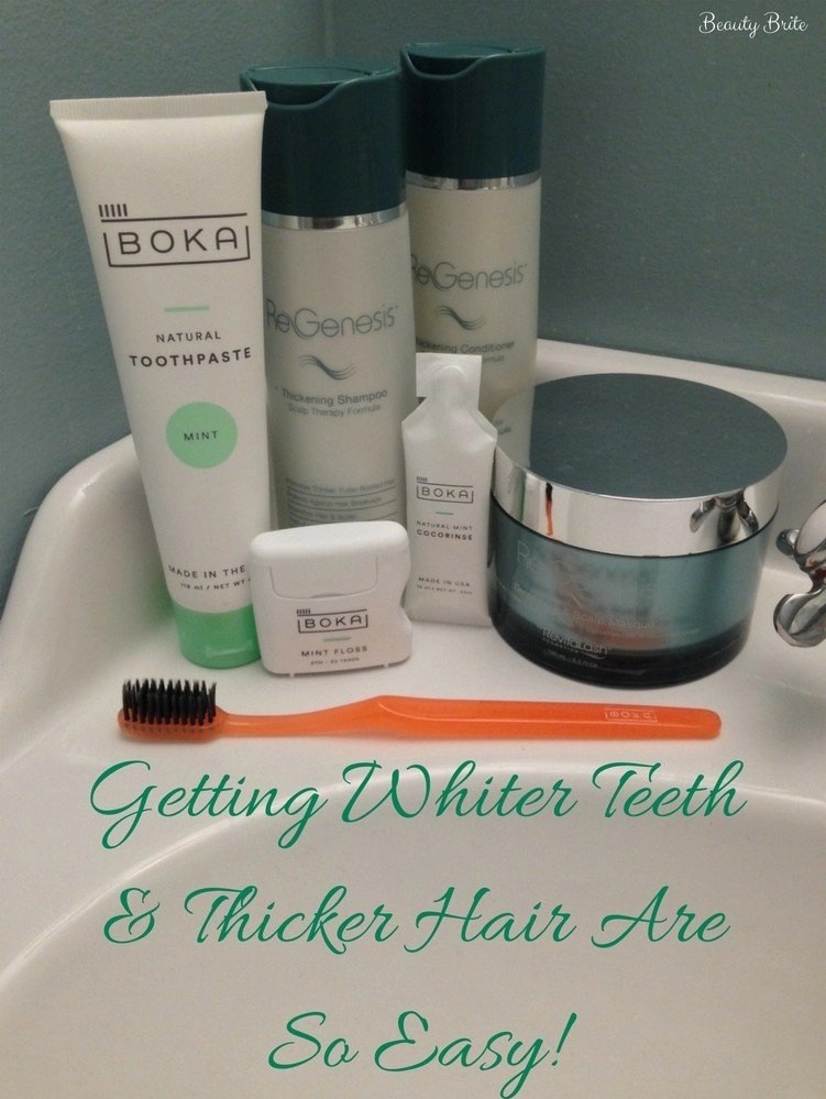 Start Now To Look Fabulous For The Holidays - Boka Oral Care & ReGenesis Hair Care