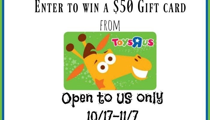 Toys R Us $50 Gift Card Giveaway