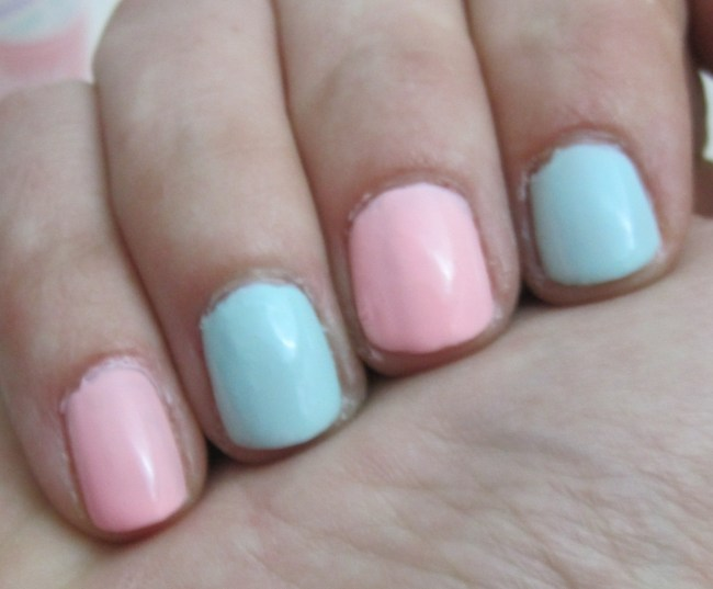 Models Own Fruit Pastel Swatched