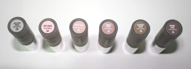 Bare Minerals 5in1 BB Advanced Performance Cream Eyeshadow  shades names