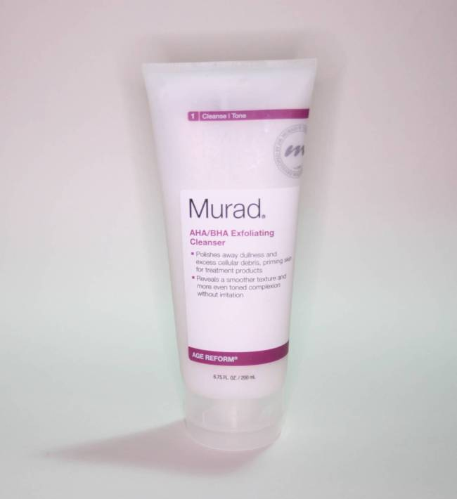 Exfoliating cleanser reviews
