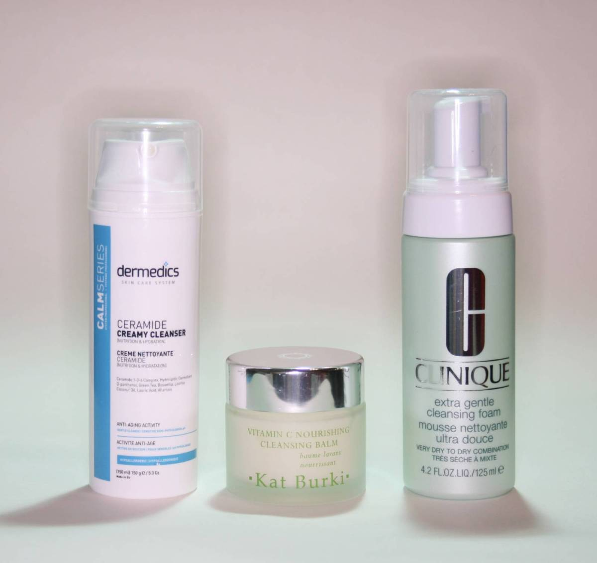 Three New Cleansers #2