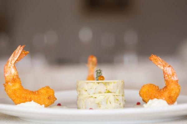 Seppie marinate al profumo di Bergamotto con Mela di Bova, dello Chef Filippo Cogliandro