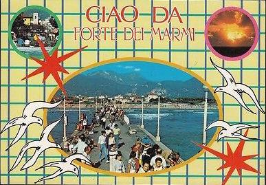 Ciao-Da-Forte-Dei-Marmi-Cartolina-Colori-Viaggiata