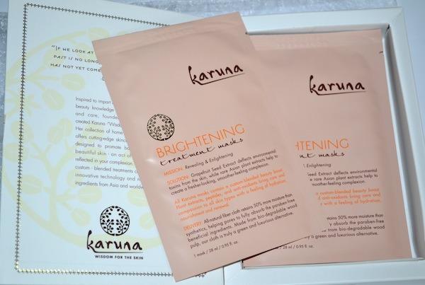 Karuna Brightening Face mask