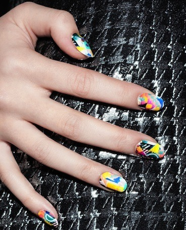 NCLA nail wraps fall collection