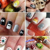 25 Spooky & Simple Halloween Nail Art Ideas