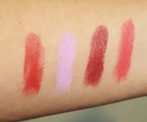 Feral Lipstick Swatches
