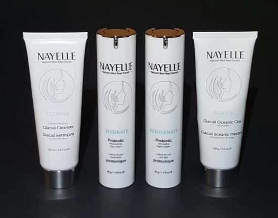 New!  Nayelle Probiotic Skincare #GlowOn #organic #greenbeauty #luxury