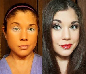 NARS before after