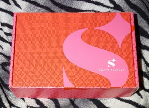 Sweet Sparkle Box March 2017 1