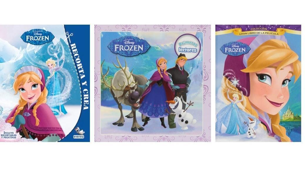 Los mejores libros de la pel cula frozen para regalar esta - Los mejores libros para regalar ...