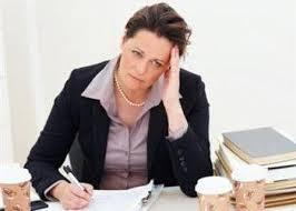 Stressed employee 2