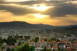 Sarajevo - White Fortress Sunset