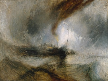 J. M. W. Turner, Snow Storm - the sublime in buckets