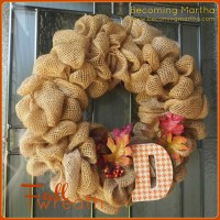 An Autumn / Fall Wreath