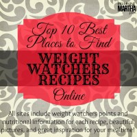 10 Best Resources for Weight Watchers Recipes