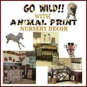 Animal Print Nursery Decor