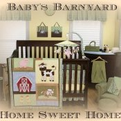 Barnyard Baby Bedding Farm Animal Nursery
