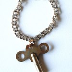 Sterling Silver Toy Key Charm