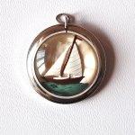 Ahoy Matey! Sailboat Pendant
