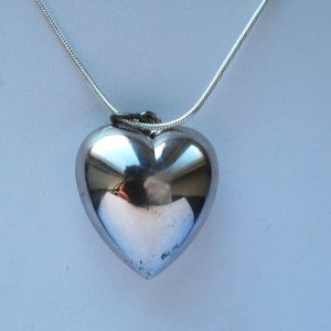 #sterlingsilver #valentinesday #puffyheart #love #jewelry #vintage
