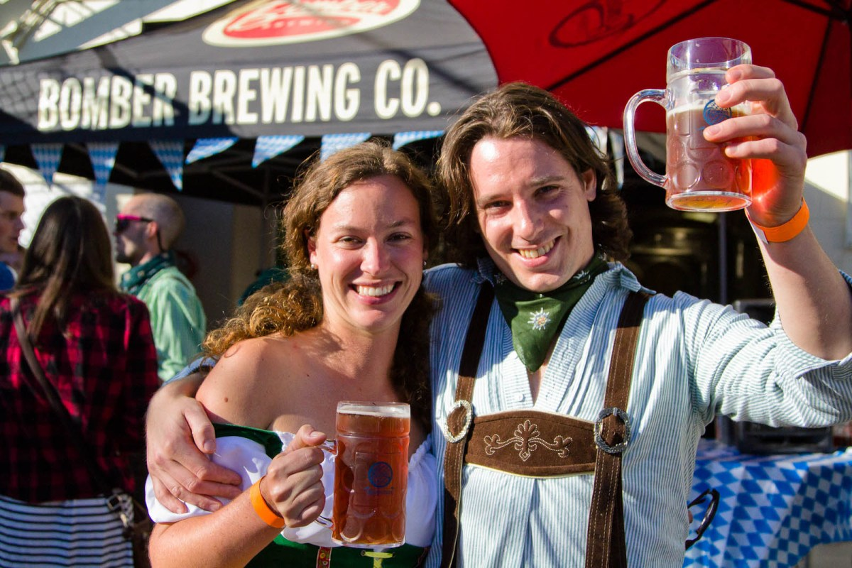 Oktoberfest in East Vancouver - Bomber Brewing Says Cheers to the Neighbourhood