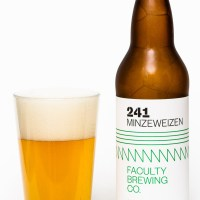 Faculty Brewing Co. - 241 Minzeweizen