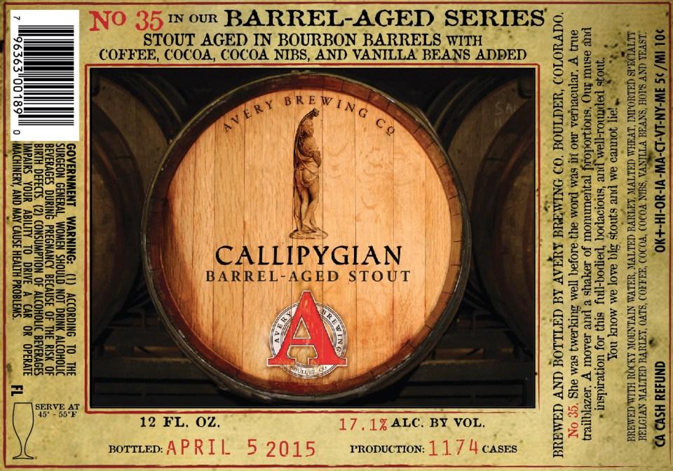 Avery Calliphgian Barrel-Aged Stout