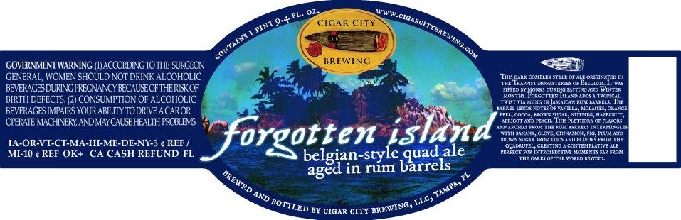Cigar City Forgotten Island