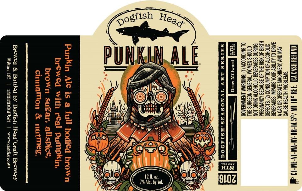 Dogfish Head Punkin Ale 2016