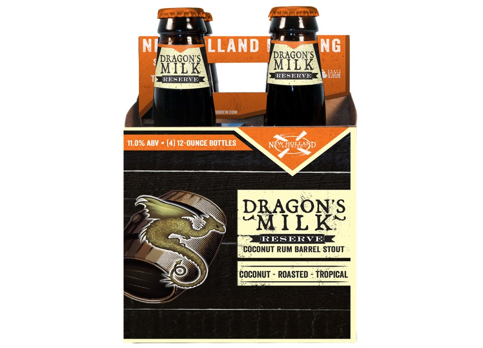 New Holland Dragon's Milk Reserve Coconut Rum Barrel