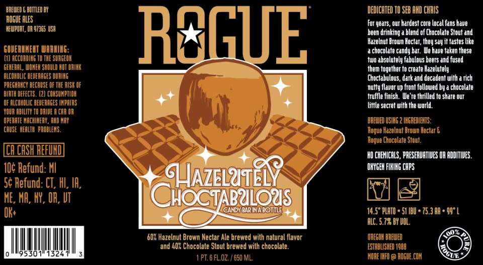 Rogue Hazelutely Choctabulous
