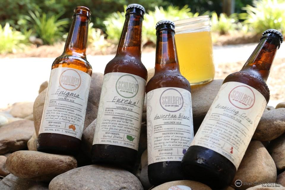 Schlafly Hop Trial SMaSH Pack bottles