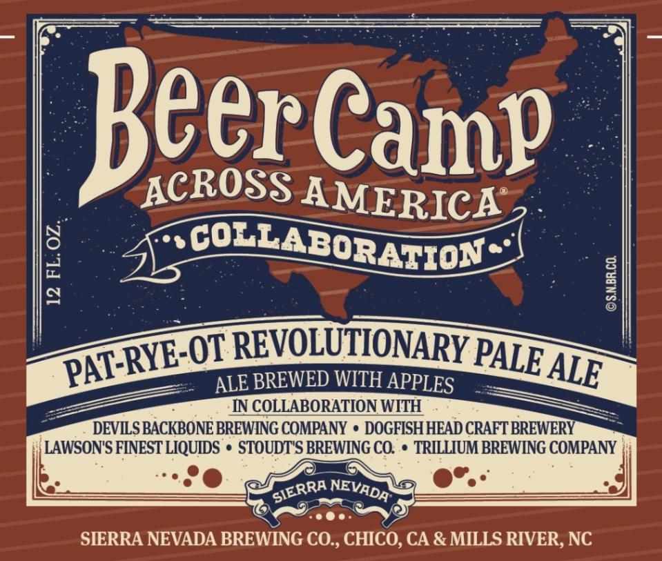Sierra Nevada Pat-Rye-Ot Revolutionary Pale Ale