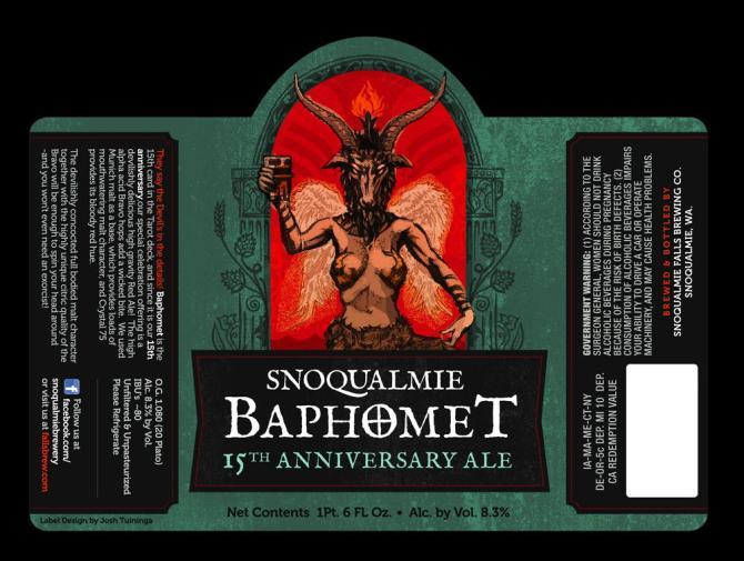 Snoqualmie Baphomet 15th Anniversary