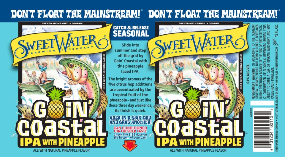 SweetWater Goin' Coastal