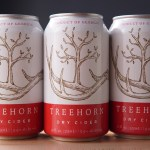 Treehorn Dry Cider cans