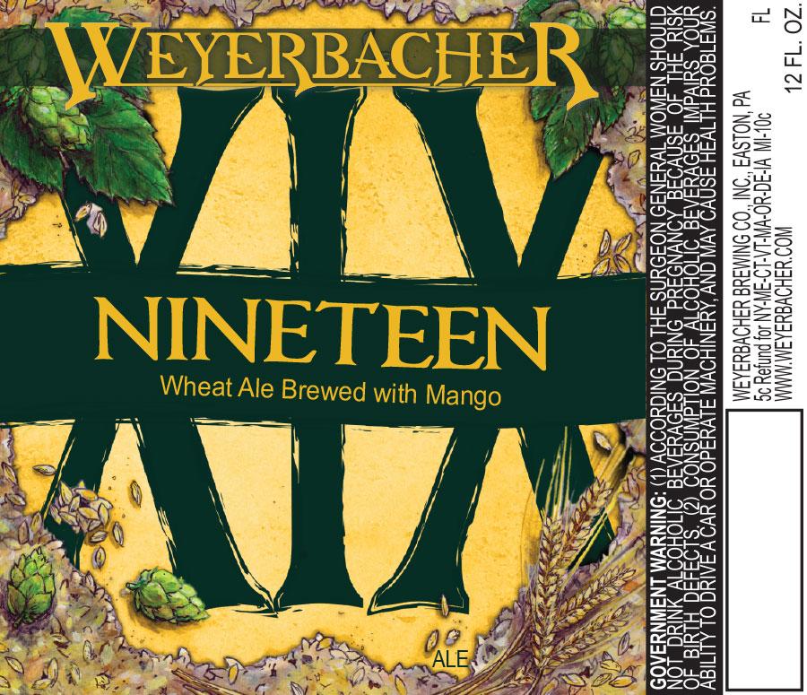 Weyerbacher Nineteen Wheat Ale
