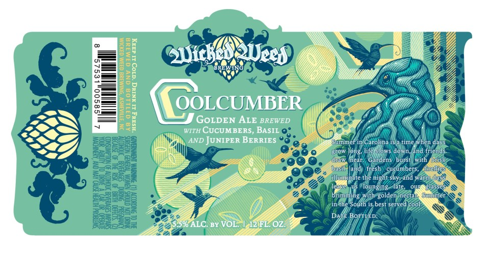 Wicked Weed Coolcumber