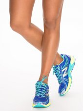 new balance sportschoen sneaker blauw geel - nlysport collectie - workout gear - trendy sportkleding - be fit and fashionable
