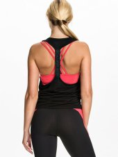tank top sportshirt zwart roze - nlysport collectie - workout gear - trendy sportkleding - be fit and fashionable