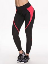 zwart roze sportbroek tights - nlysport collectie - workout gear - trendy sportkleding - be fit and fashionable