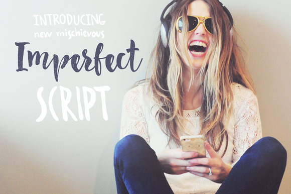 Imperfect Calligraphy Script Font Download