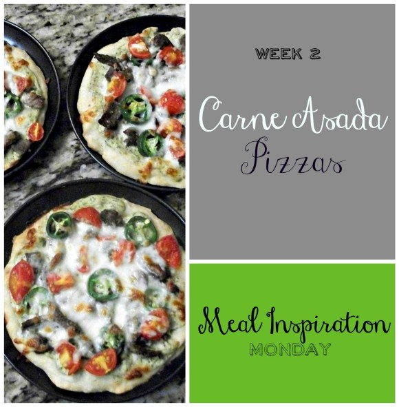 week 2 carne asada pizza