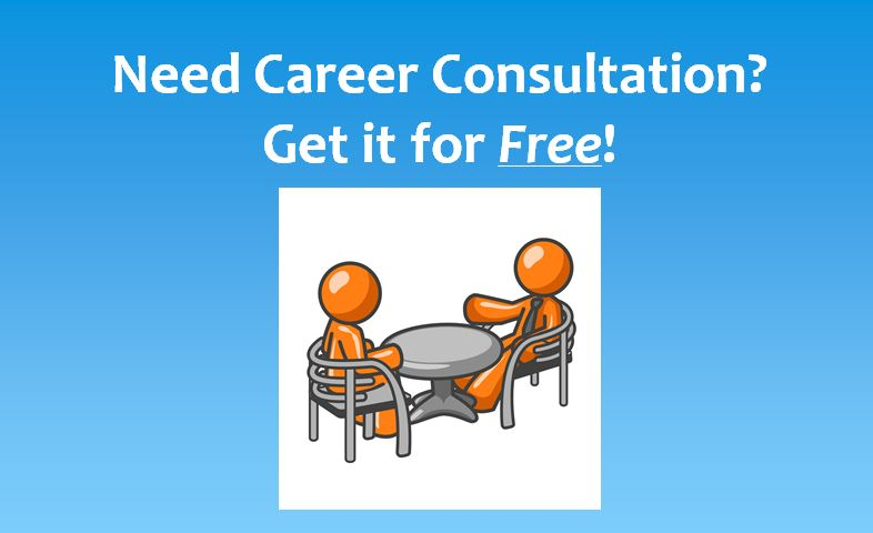 Need Career Consultation? Get it for Free!
