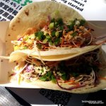I scout every food fair for Palms L.A. and its chicken tacos. Great sauce.