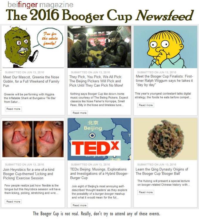 Booger Cup 2016 News Final