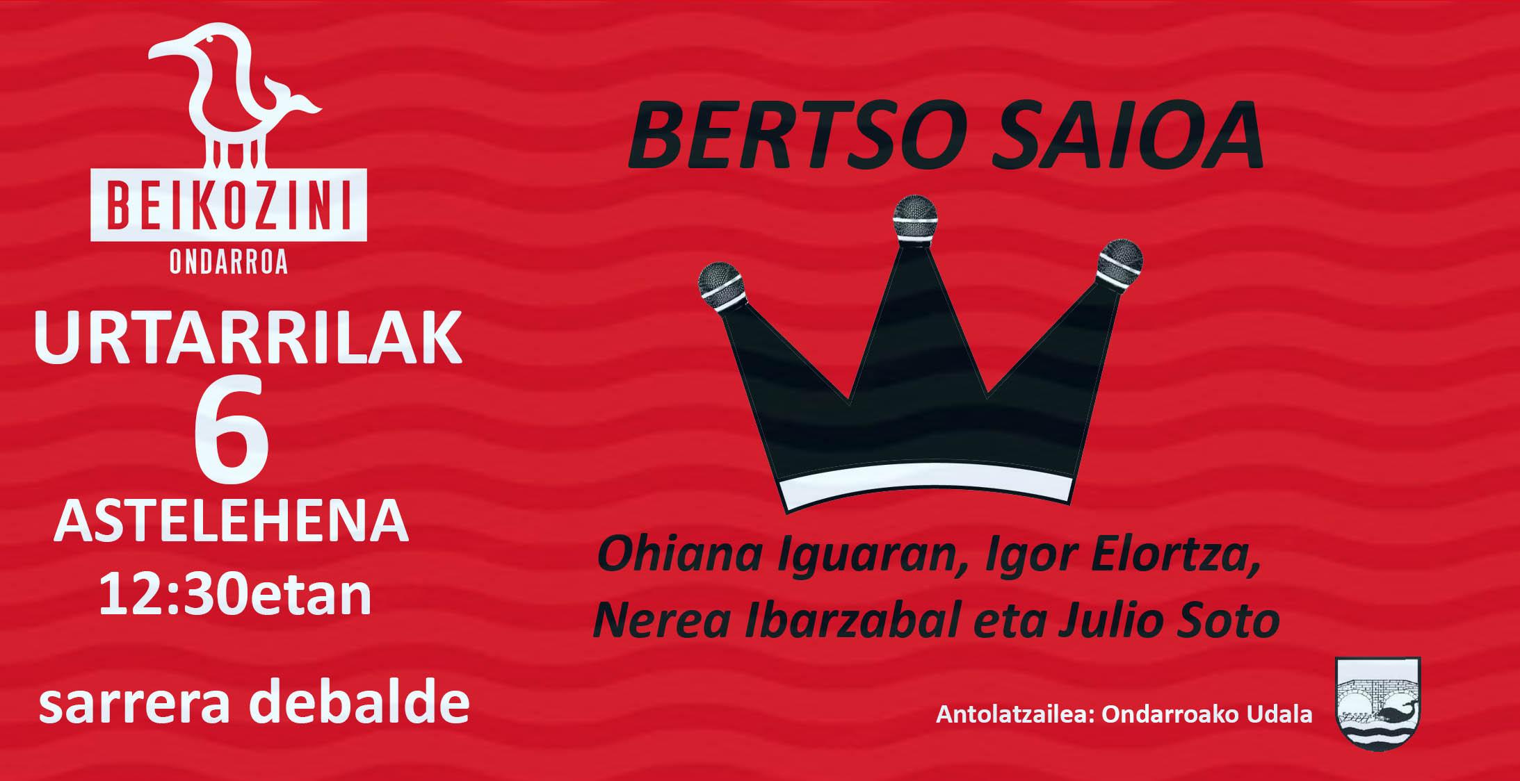 errege-eguneko-bertso-saioa