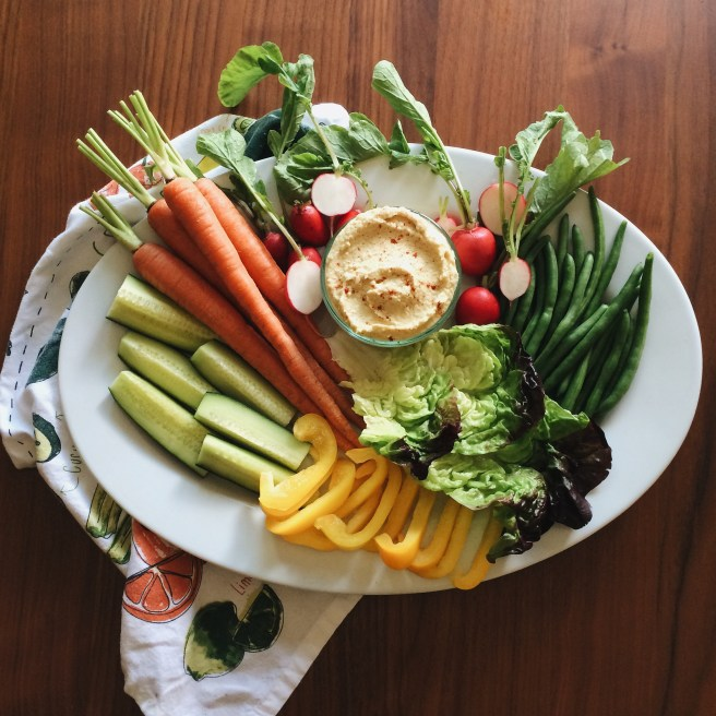 How to Make a Beautiful Hummus and Crudités Platter | In Fine Fettle